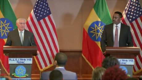 Press Availability With Ethiopian Foreign Minister Workneh Gebeyehu