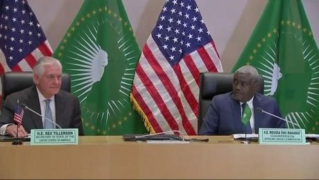 Press Availability With African Union Commission Chairperson Moussa Faki