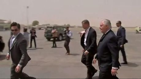 Secretary Tillerson Arrives in Chad