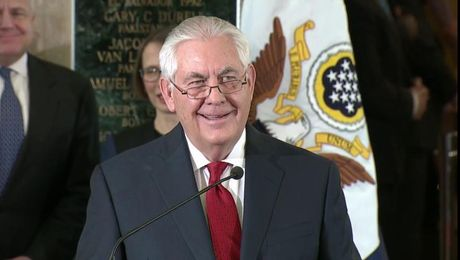 Secretary Tillerson's Farewell Remarks to the Department of State