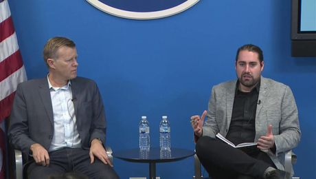 "NY Foreign Press Center Briefing on ""Blockchain Technology Explained"""