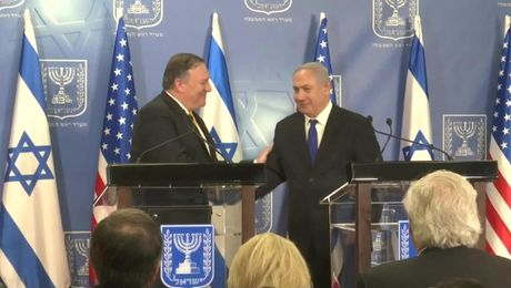 Remarks With Israeli Prime Minister Netanyahu After Their Meeting in Tel Aviv
