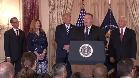 Ceremonial Swearing-In of the 70th U.S. Secretary of State Mike Pompeo