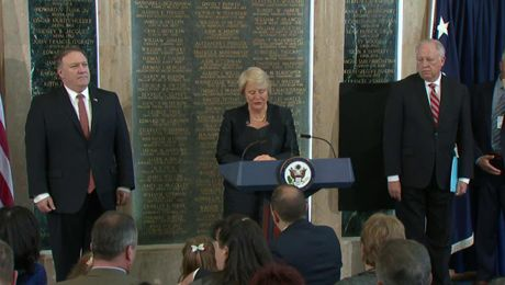 American Foreign Service Association Memorial Plaque Ceremony