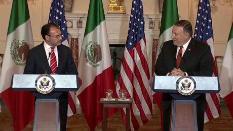 Secretary Pompeo Delivers Joint Statements with Mexican Foreign Secretary Videgaray