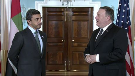 Secretary Pompeo Meets with UAE Foreign Minister Sheikh Abdullah bin Zayed