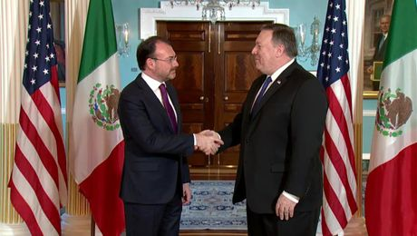 Secretary Pompeo Meets with Mexican Foreign Secretary Luis Videgaray Caso