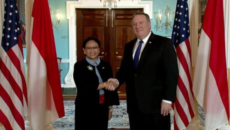 Secretary Pompeo Meets with Indonesian Foreign Minister Retno Marsudi