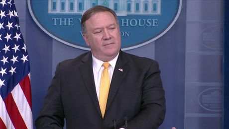 Press Briefing with Secretary Pompeo at the White House (with Q&A)