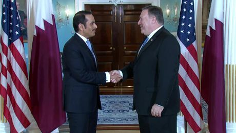 Secretary Pompeo Meets with Qatari Foreign Minister Thani