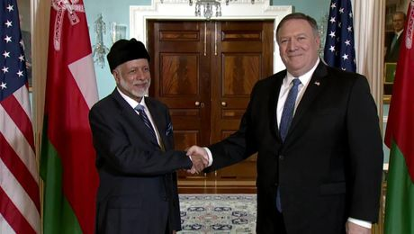 Secretary Pompeo Meets With Omani Foreign Minister Yusuf bin Alawi
