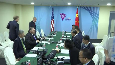 Secretary Pompeo Meets with Chinese Foreign Minister Wang Yi