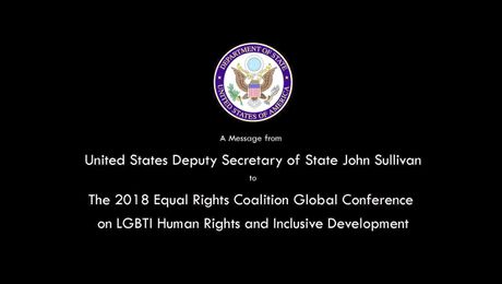 Video Remarks to the Equal Rights Coalition Global Conference