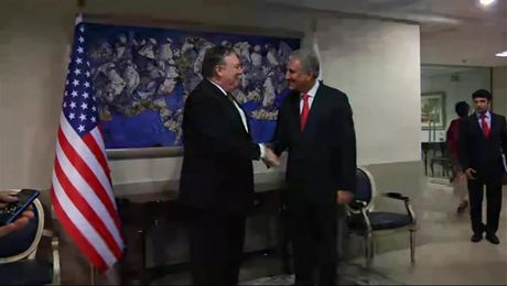 Secretary Pompeo Meets with Pakistan Foreign Minister Shah Mahmood Qureshi