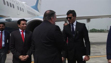 Secretary Pompeo Arrives in Pakistan
