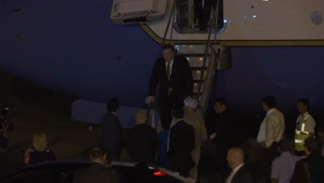 Secretary Pompeo Arrives in India