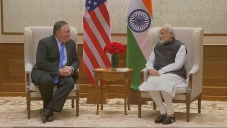 Secretary Pompeo Meets with Prime Minister of India Narendra Modi
