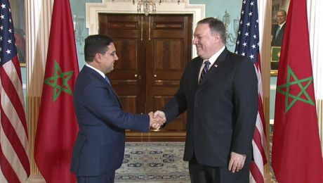 Secretary Pompeo Meets with Moroccan Foreign Minister Nasser Bourita