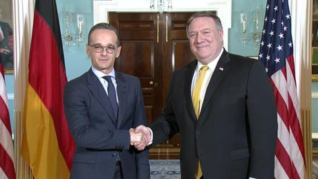Secretary Pompeo meets with German Foreign Minister Heiko Maas
