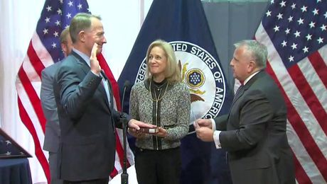 Swearing-in Ceremony for Ambassador Daniel B. Smith as Director of the Foreign Service Institute