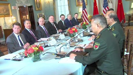 U.S.-China Diplomatic & Security Dialogue