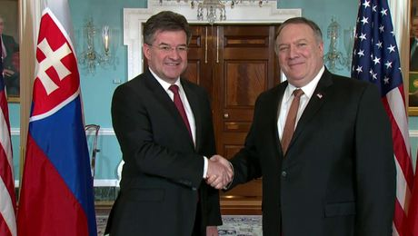 Secretary Pompeo Meets With Slovak Foreign Minister Lajcak