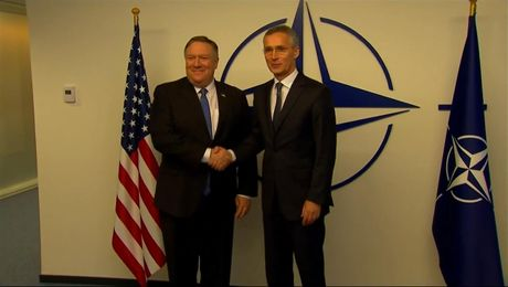 Remarks With NATO Secretary General Jens Stoltenberg Before Their Meeting