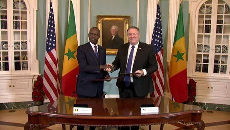 Secretary Pompeo Meets with Senegalese PM Mahammed Boun Abdallah Dionne