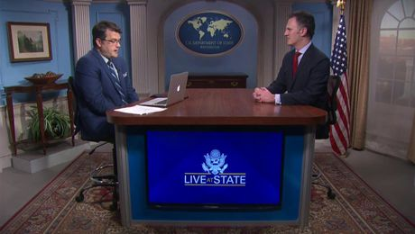 Live at State With Ambassador Nathan Sales, Counterterrorism Coordinator [Spanish]