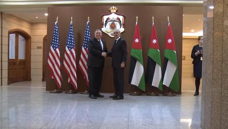 Secretary Pompeo meets with Jordanian Foreign Minister Ayman Safadi
