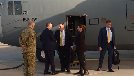 Secretary  Pompeo unannounced visit to Iraq,