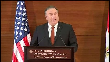 "Secretary Pompeo remarks on ""A Force for Good: America Reinvigorated in the Middle East"""