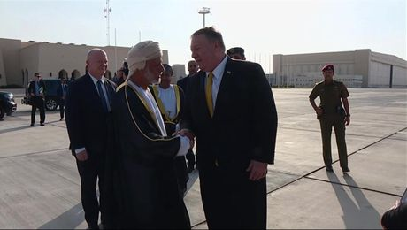 Secretary Pompeo Arrives in Muscat, Oman