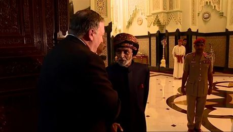 Secretary Pompeo Meets with Omani Sultan Qaboos bin Said Al Said