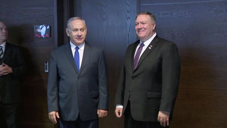 Remarks With Israeli Prime Minister Benjamin Netanyahu Before Their Meeting