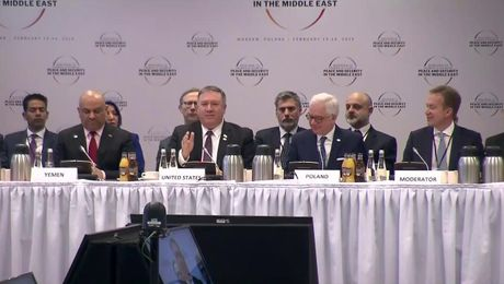Remarks With Polish Foreign Minister at the Ministerial to Promote a Future of Peace and Security in the Middle East