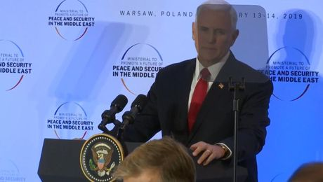 Vice President Pence Delivers Remarks at Ministerial Working Lunch in Warsaw