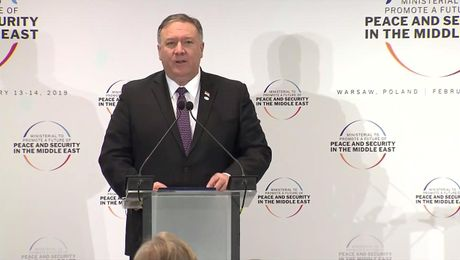 Secretary Pompeo's Joint Press Availability in Warsaw, Poland