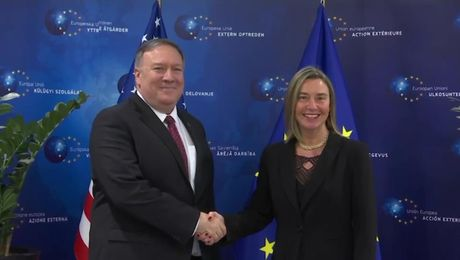 Secretary Pompeo Meets with European Union (EU) Vice President Mogherini