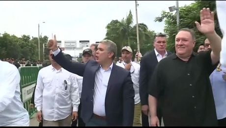 Secretary Visits Simón Bolívar Bridge on Venezuelan/Colombian Border
