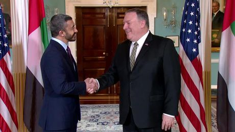 Secretary Pompeo Meets with Emirati Foreign Minister Abdullah bin Zayed Al Nahyan