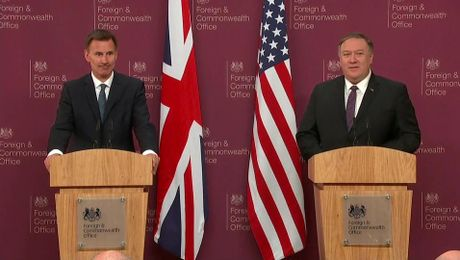Opening Remarks at Press Availability with UK Foreign Secretary Jeremy Hunt in London