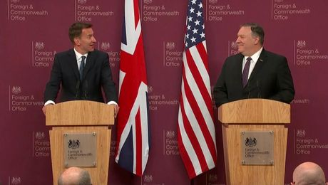 Press Availability With British Foreign Secretary Jeremy Hunt in London