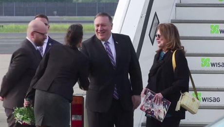 Secretary Pompeo arrives in Berlin