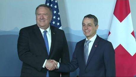 Secretary Pompeo Meets with Swiss Foreign Minister Ignazio Cassis