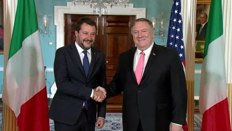 Secretary Pompeo Meets with Italian Deputy Prime Minister Salvini
