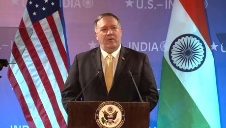 Secretary Pompeo's remarks on India Policy.