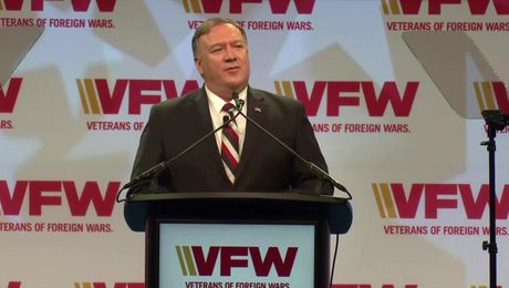 Secretary Pompeo remarks at the 120th Veterans of Foreign Wars National Convention.
