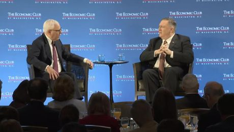 Secretary Pompeo interview with Economic Club President Rubenstein