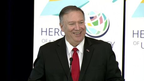 Secretary Pompeo's Remarks at the Heroes of U.S. Diplomacy Launch